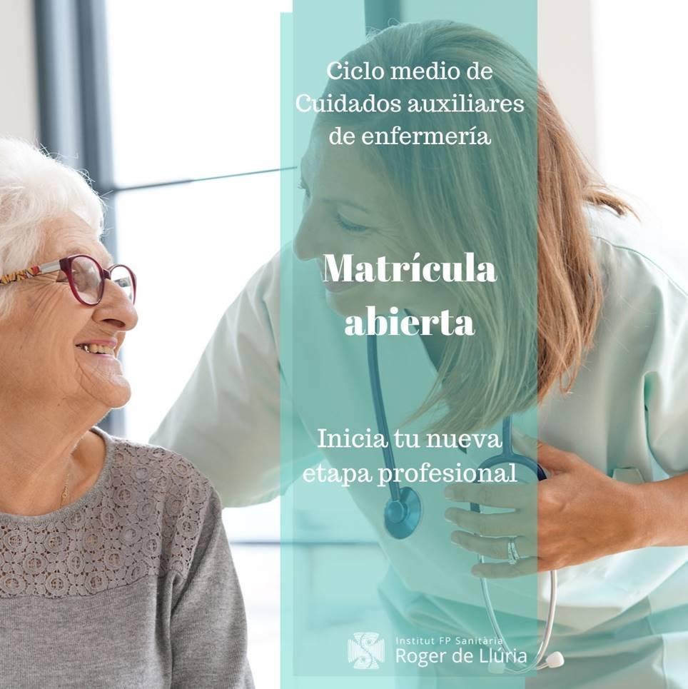 Cicle formatiu grau mig cures auxiliars d'infermeria